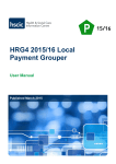 HRG4 2015/16 Local Payment Grouper