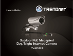 TRENDnet User`s Guide Cover Page