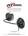 EtherCAT F/T Interface for OEM
