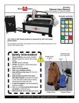 Plasma User Manual - Techno CNC Systems