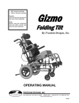 Gizmo Operators Manual