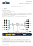 Sound Skulptor MC624 User manual
