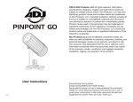 PinPoint GO User Manual