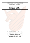 endat-3857 users manual unicorn computer corp.
