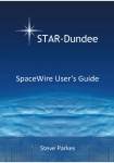 SpaceWire User`s Guide - STAR