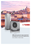 NIBE heat pumps for large apartment buildings and commercial