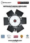 Rotolight ANOVA User Guide