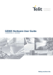 GE865 Hardware User Guide