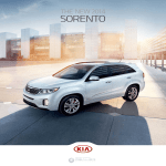 Kia 2014 Sorento Brochure - Dealer e
