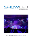 ShowLED Animation user manual