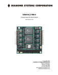 Emerald-MM-8 Manual - Diamond Systems Corporation