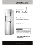 USER MANUAL - Primo Water Store