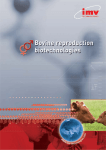 Bovine catalogue - IMV Technologies