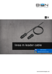 linea m leader cable