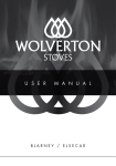 User Manual 9KW Stove