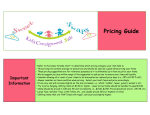 Pricing Guide - Sweet Swaps Kids Consignment Sale
