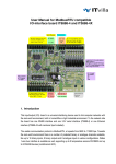 User Manual for ModbusRTU compatible I/O