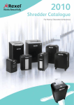 Shredder catalogue & guide to buying shredders
