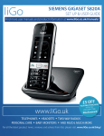 Gigaset S820A - User Guide