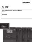 R8001 Series SLATE™ Integrated Combustion Management System
