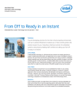From Off to Ready in an Instant