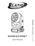 RAYZOR Q12 ZOOM™ - Elation Professional