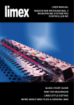 LIMEX MIDI and MC10 controller manual (PDF