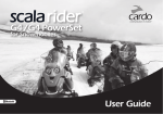 G4 Snowmobile user guide