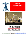 ORCA Bioreactor™ - Harvard Apparatus Regenerative Technology