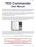 to the User Manual.