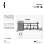 Nor-211A User Manual - Campbell Associates