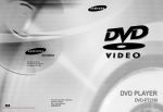 Samsung DVD-P721M User Guide Manual
