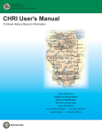 CHRI User`s Manual - Illinois State Police