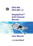 DP AUX Channel Monitor User Manual