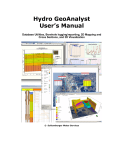 Hydro GeoAnalyst User`s Manual - swstechnology.com archive