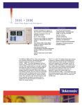 Tektronix 3066,3086 Real-Time Spectrum