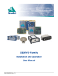 OEMV® Family - NovAtel Inc.