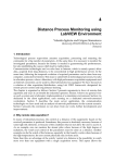 4 Distance Process Monitoring using LabVIEW Environment