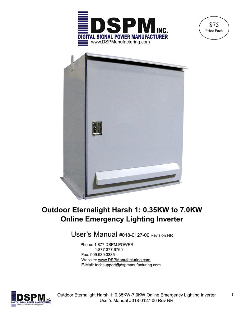 Outdoor Eternalight Harsh 1: 0 35KW to 7 0KW Online