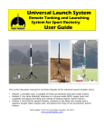Universal Launch System User Guide