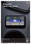 Bluetooth® hands-free system - Toyota