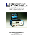 User`s Manual - Buck Research Instruments LLC