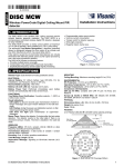 D-302924 Disc MCW Installation Instructions