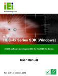 HDC-4x Series SDK (Windows)