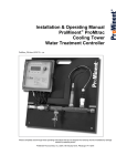 User Manual - ProMinent Fluid Controls, Inc.