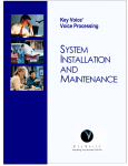 Voice Mail System Key Voice Voice Mail System Manual