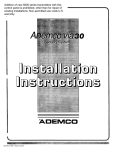 Via-30 Installation Manual