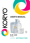 User`s MANUAL - Koryo
