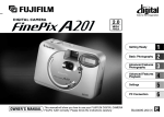 FinePix A201 Owner`s Manual