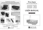 User Manual for Pro-Care ® beds